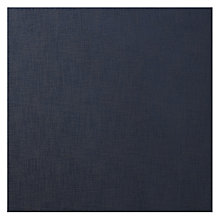 Buy John Lewis Zarao Semi Plain Fabric, Navy, Price Band C Online at johnlewis.com