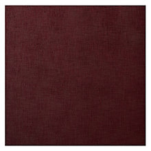 Buy John Lewis Zarao Semi Plain Fabric, Burgundy, Price Band C Online at johnlewis.com
