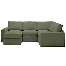 Buy House by John Lewis Finlay Small Chaise/Corner Chaise End Sofa, Quinn Blue Grey Online at johnlewis.com