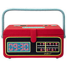 Buy Cath Kidston Clocks Radio Sewing Basket Online at johnlewis.com