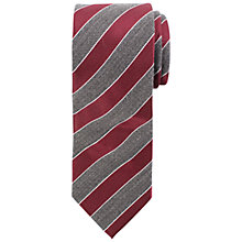 Buy John Lewis Wool/Silk Stripe Tie Online at johnlewis.com