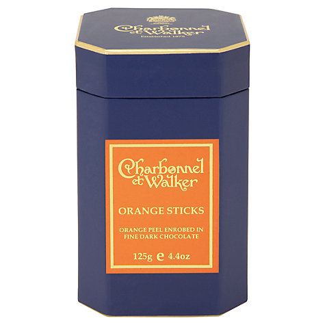 Buy Charbonnel et Walker Dark Chocolate Orange Sticks, 125g Online at johnlewis.com