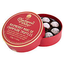 Buy Charbonnel et Walker Raspberry Marc de Champagne Truffles, 110g Online at johnlewis.com