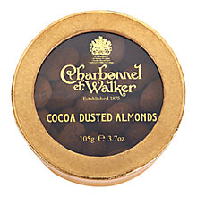 Buy Charbonnel et Walker Cocoa Dusted Almonds, 105g Online at johnlewis.com