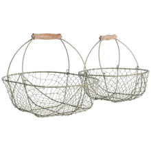 Buy Garden Trading Wirework Trugs, Set of 2 Online at johnlewis.com