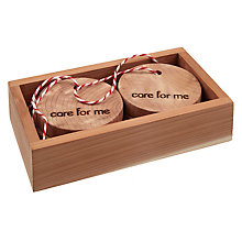 Buy John Lewis Cedar Wardrobe Fresheners, Set of 4 Online at johnlewis.com