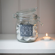 Buy Garden Trading Total Black Out Jar Online at johnlewis.com