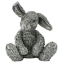 Buy Royal Selangor Hazel Rabbit Pewter Figurine Online at johnlewis.com