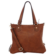 Buy Oasis Ashley Satchel Bag, Tan Online at johnlewis.com