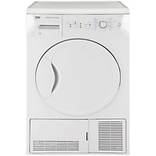 Buy Beko DCU8230W Condenser Tumble Dryer, 8kg Load, B Energy Rating, White Online at johnlewis.com