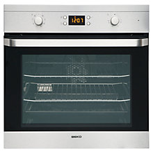 Buy Beko OIM22300X Single Electric Oven, Stainless Steel Online at johnlewis.com