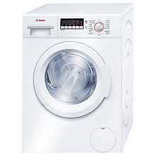 Buy Bosch WAK24260GB Washing Machine, 8kg Load, A+++ Energy Rating, 1200rpm Spin, White Online at johnlewis.com