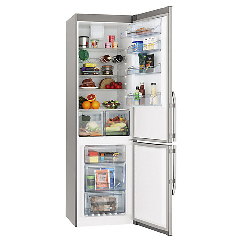 Buy John Lewis JLFFS2020 Fridge Freezer, A++ Energy Rating, 60cm Wide, Stainless Steel Online at johnlewis.com