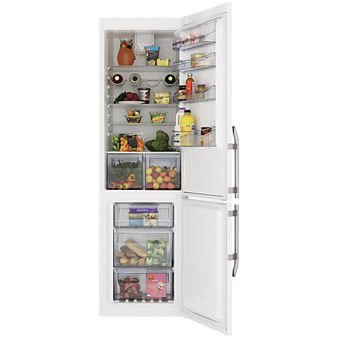 Buy John Lewis JLFFW2019 Fridge Freezer, A++ Energy Rating, 60cm Wide, White Online at johnlewis.com