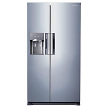 Buy Samsung RS7667FHCSL American Style Fridge Freezer, Silver Online at johnlewis.com
