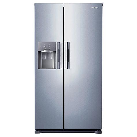 ... Samsung RS7667FHCSL American Style Fridge Freezer, Silver | John Lewis