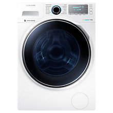 Buy Samsung WW90H7410EW Freestanding Washing Machine, 9kg Load, A+++ Energy Rating, 1400rpm Spin, White Online at johnlewis.com