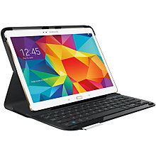 Buy Logitech Type - S Keyboard Cover for Samsung Galaxy Tab S 10.5 Online at johnlewis.com