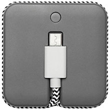 Buy Native Union Jump Cable, 2-in-1 Cable and Portable Charger for Micro-USB Smartphones Online at johnlewis.com