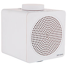 Buy John Lewis Spectrum Cube Bluetooth Portable NFC Speaker Online at johnlewis.com