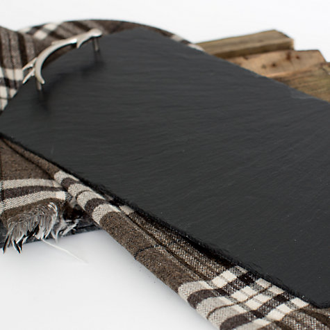 Buy Just Slate Large Antler Tray Online at johnlewis.com