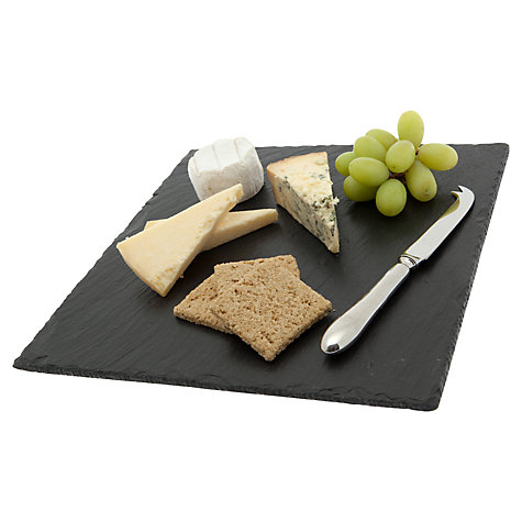 Buy Just Slate Square Cheeseboard Online at johnlewis.com