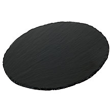 Buy Just Slate Round Placemats, Set of 2 Online at johnlewis.com