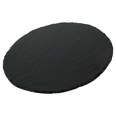Just Slate Round Cheeseboard