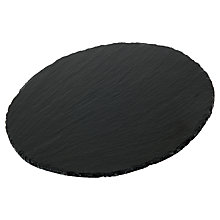 Buy Just Slate Round Cheeseboard Online at johnlewis.com