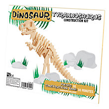 Buy Professor Puzzle Small T-Rex Construction Kitac Online at johnlewis.com