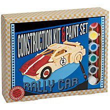 Buy Professor Puzzle Rally Car Construction Kit and Paint Set Online at johnlewis.com