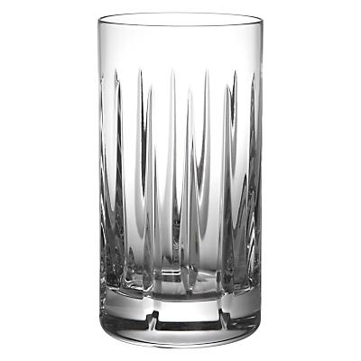 John Lewis Glacier Cut Crystal Highball Glasses, Set of 2