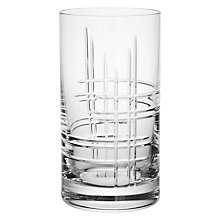 Buy John Lewis Latitude Cut Crystal Highballs, Set of 2 Online at johnlewis.com