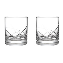 Buy John Lewis Stellar Cut Crystal Tumblers, Set of 2 Online at johnlewis.com