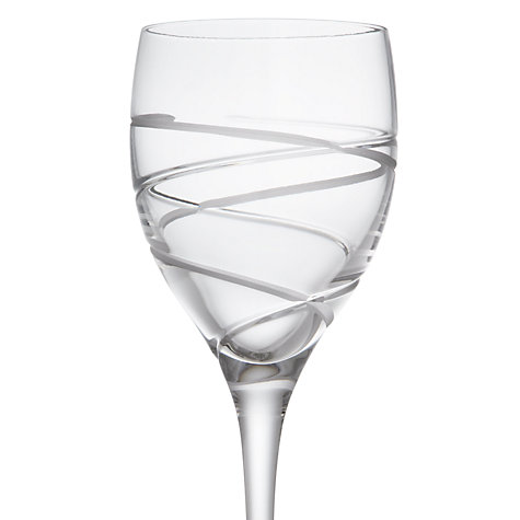 Buy John Lewis Aurora Cut Crystal Wine Glasses Set Of 2