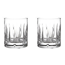 Buy John Lewis Glacier Cut Crystal Tumblers, Set of 2 Online at johnlewis.com