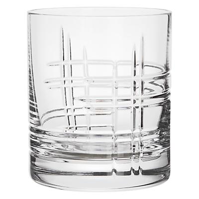 John Lewis Latitude Cut Crystal Tumblers, Set of 2