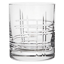 Buy John Lewis Latitude Cut Crystal Tumblers, Set of 2 Online at johnlewis.com