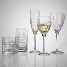 Buy John Lewis Latitude Cut Crystal Glassware Online at johnlewis.com