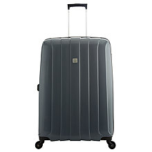 Buy John Lewis Miami 4-Wheel 75cm Large Suitcase, Grey Online at johnlewis.com
