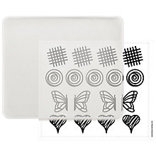Buy Lékué Decomat Basic Cake Stencil Kit Online at johnlewis.com
