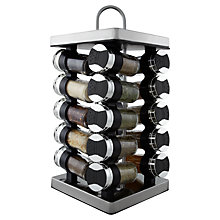 Buy John Lewis 16 Jar Filled Spice Rack Online at johnlewis.com