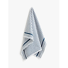Buy John Lewis Terry Check Tea Towel Online at johnlewis.com