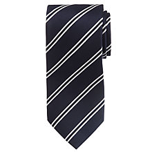 Buy Hackett London Two Stripe Silk Tie Online at johnlewis.com