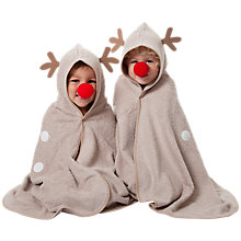 Buy Cuddledry Cuddledeer Hooded Towel Online at johnlewis.com