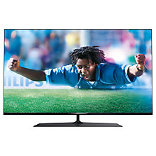 "Buy Philips 42PUS7809 LED 4K Ultra HD 3D Smart TV 42"" with Freeview HD, Ambilight and 4x 3D Glasses Online at johnlewis.com"