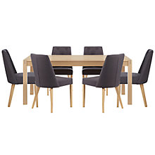 Buy John Lewis Agneta Dining Table and 6 Chairs Set Online at johnlewis.com