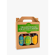 Buy Staffordshire Brewery Traditional Crafted Ciders Set, 3 x 500ml Online at johnlewis.com