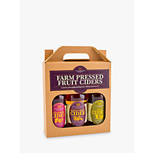 Buy Staffordshire Brewery Farm Pressed Fruit Ciders Set, 3 x 55ml Online at johnlewis.com
