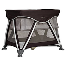 Buy Nuna Sena Travel Cot, Large, Night Online at johnlewis.com